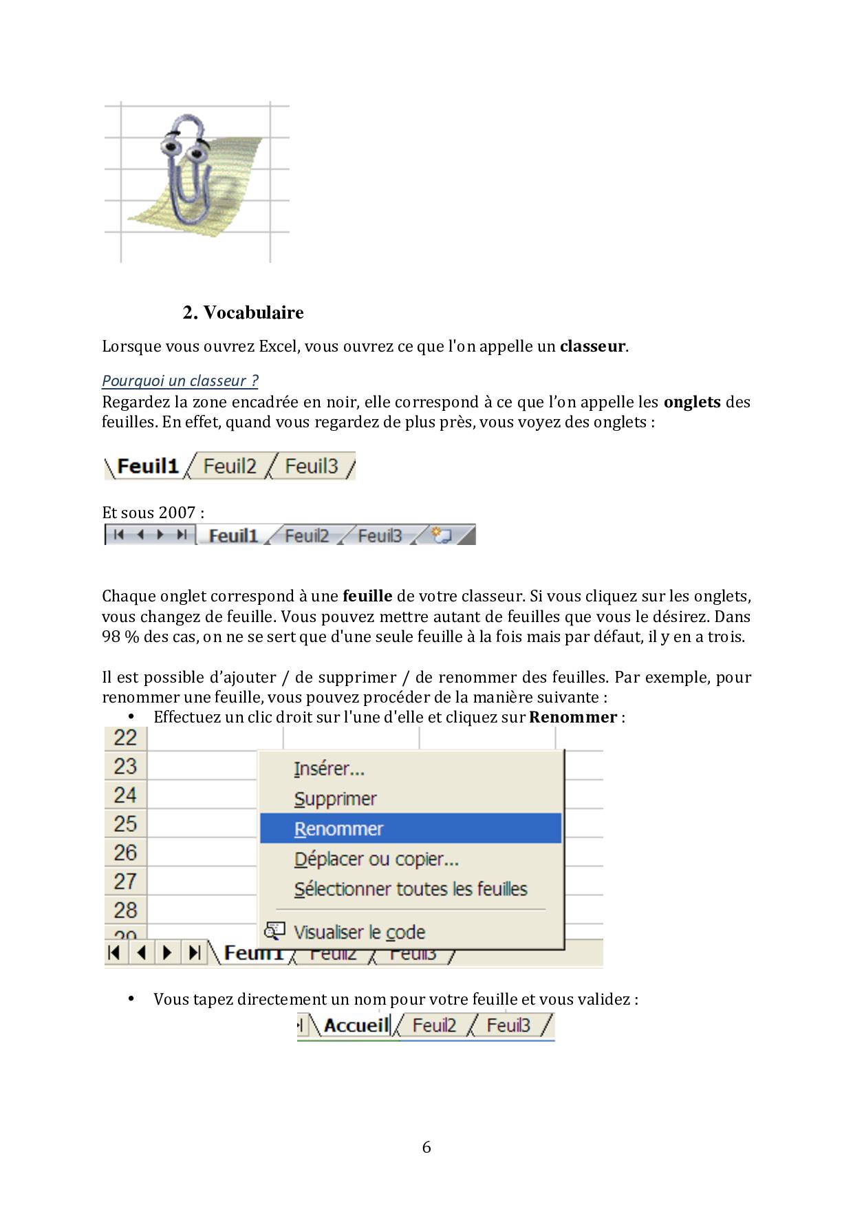 cours d informatique excel 2007 pdf
