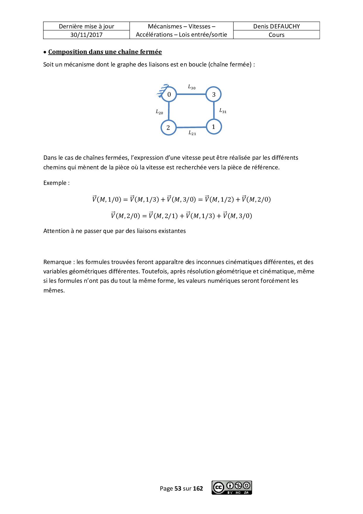 Cours 01 - Liaisons - Sch ma cin matique - PDF