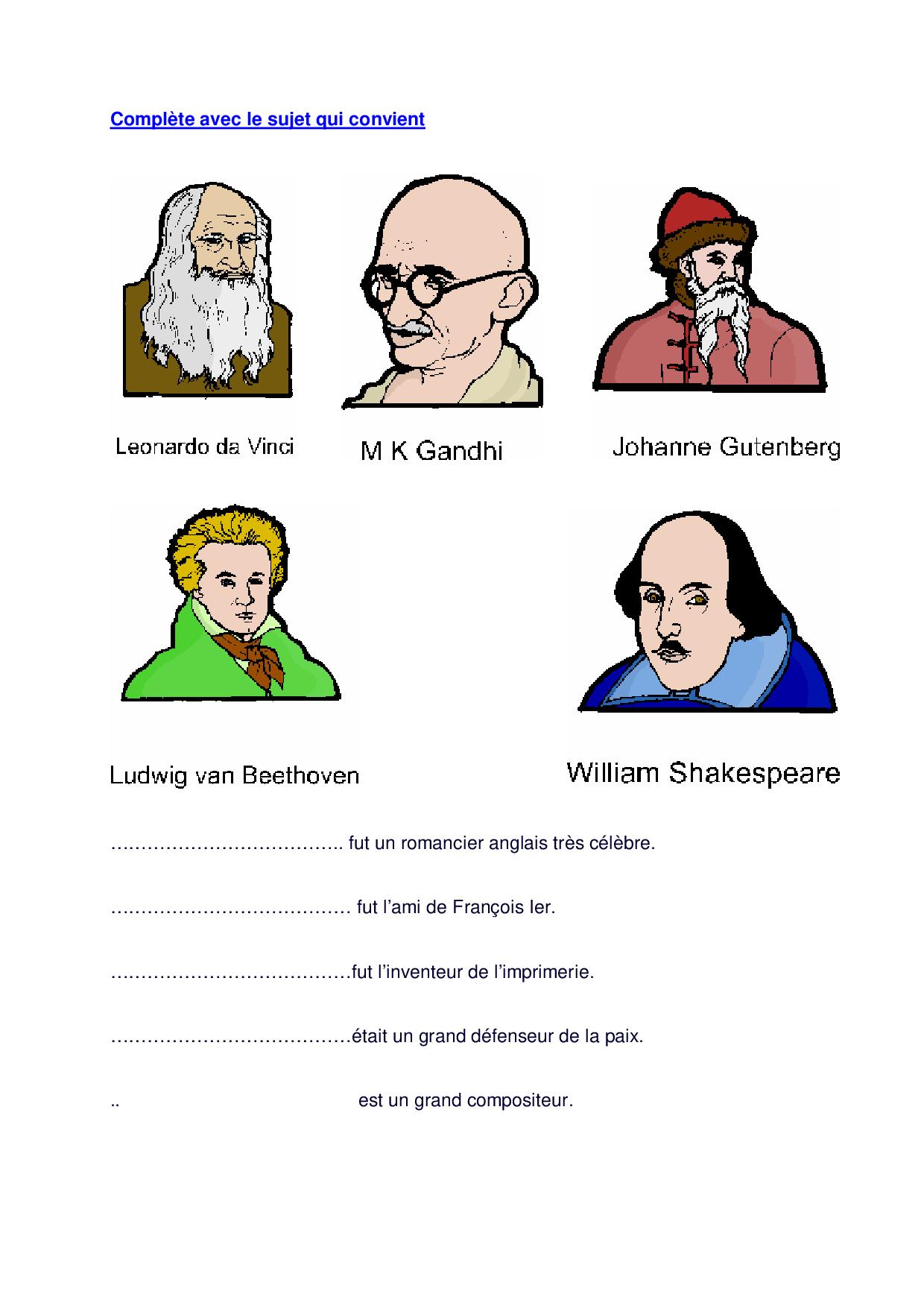 L'attribut du sujet - exercices 3 - AlloSchool