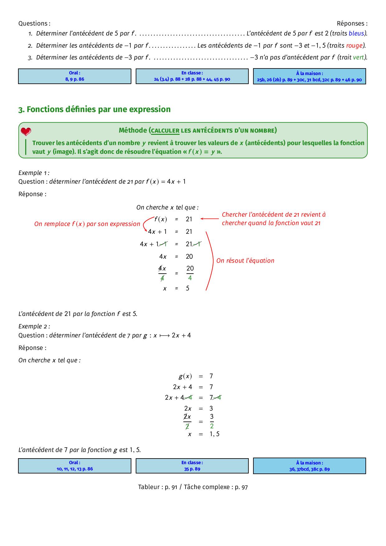 Notion de fonction - Cours - AlloSchool