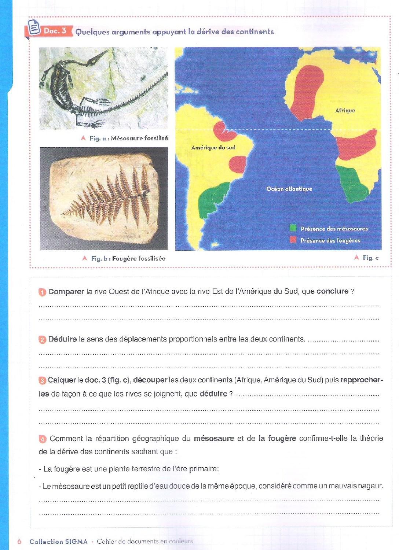 La Tectonique Des Plaques Activites Et Exercices Alloschool