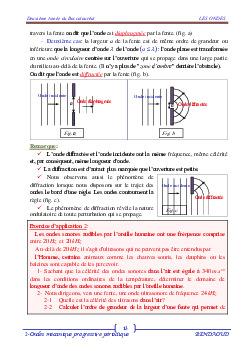 Les ondes mécaniques progressives périodiques - Cours 1 0004-mini