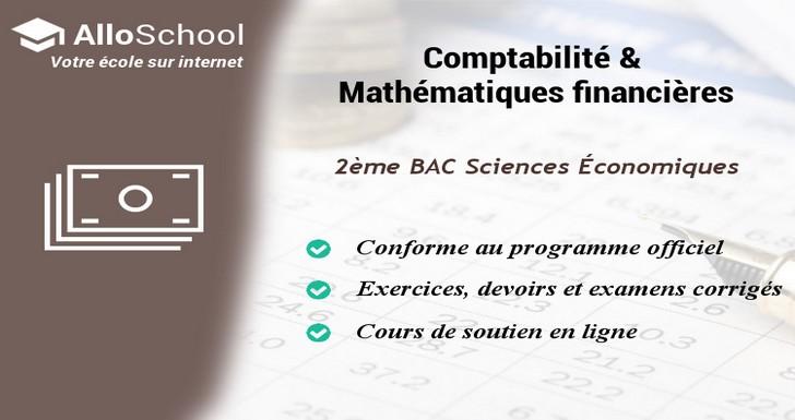 Comptabilite Et Mathematiques Financieres 2eme Bac Sciences
